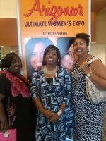 Chaundrail attended Arizona's Ultimate Women's Expo - Oct. 19th & 20th on Oct 19th 2013 via VetTix
