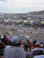 Margaret attended 2013 AdvoCare 500 NASCAR Sprint Cup Series Race on Nov 10th 2013 via VetTix