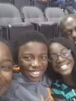 Latrice attended Dallas Mavericks vs Washington Wizards - NBA on Nov 12th 2013 via VetTix