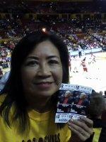 Ronald attended Arizona State Sun Devils vs Miami (Ohio) - NCAA Men's Basketball on Nov 12th 2013 via VetTix