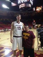 John attended Arizona State Sun Devils vs Idaho State - NCAA Men's Basketball on Nov 15th 2013 via VetTix