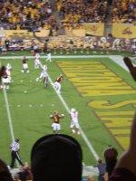 James attended #19 Arizona State Sun Devils vs Oregon State University - NCAA Football on Nov 16th 2013 via VetTix