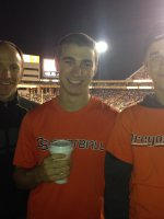 Paul attended #19 Arizona State Sun Devils vs Oregon State University - NCAA Football on Nov 16th 2013 via VetTix
