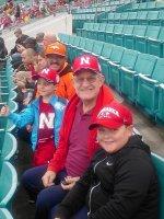 Big Red attended 2014 Gator Bowl - Nebraska Cornhuskers vs #22 Georgia Bulldogs on Jan 1st 2014 via VetTix