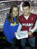 Robert attended Washington Wizards vs. Philadelphia 76ers - NBA on Jan 20th 2014 via VetTix