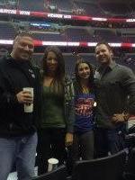 Jeramy attended Washington Wizards vs. Philadelphia 76ers - NBA on Jan 20th 2014 via VetTix