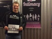 Kristian attended Intimacy at Acorn Theatre on Jan 20th 2014 via VetTix