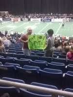 Robert attended San Antonio Talons vs Iowa Barnstormers - Arena Football on May 3rd 2014 via VetTix
