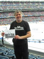 Stephen attended 2014 Coors Light NHL Stadium Series - New Jersey Devils vs. New York Rangers on Jan 26th 2014 via VetTix