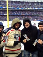 Vincent attended 2014 Coors Light NHL Stadium Series - New Jersey Devils vs. New York Rangers on Jan 26th 2014 via VetTix