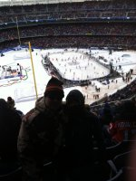 Thomas attended 2014 Coors Light NHL Stadium Series - New Jersey Devils vs. New York Rangers on Jan 26th 2014 via VetTix