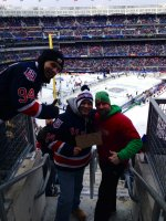 Mike attended 2014 Coors Light NHL Stadium Series - New Jersey Devils vs. New York Rangers on Jan 26th 2014 via VetTix