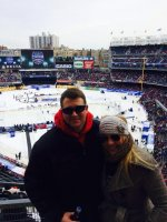 Nick attended 2014 Coors Light NHL Stadium Series - New Jersey Devils vs. New York Rangers on Jan 26th 2014 via VetTix