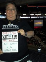 Vickie attended Jeff Dunham - Disorderly Conduct Tour on Mar 14th 2014 via VetTix