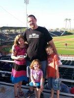 Dwayne attended Cleveland Indians vs. Kansas City Royals - Spring Training MLB on Mar 13th 2014 via VetTix