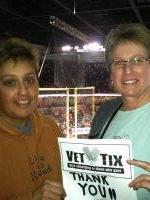 Karen attended Spokane Shock vs Iowa Barnstormers - AFL on Mar 15th 2014 via VetTix
