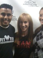 Rigoberto attended Kathy Griffin Comedy Concert 01/29 Santa Rosa CA on Jan 29th 2011 via VetTix