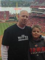 Joey attended Cincinnati Reds vs Milwaukee Brewers - MLB on May 2nd 2014 via VetTix