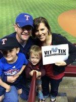 Brandon attended Texas Rangers vs Colorado Rockies - MLB on May 8th 2014 via VetTix