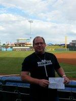 Randall attended Round Rock Express vs. Omaha Storm Chasers - MiLB - Thursday on May 8th 2014 via VetTix
