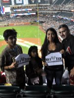 Click To Read More Feedback from Arizona Diamondbacks vs. San Diego Padres - MLB - Memorial Day