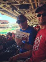 Michael attended Washington Nationals vs Chicago Cubs - MLB - 4th of July on Jul 4th 2014 via VetTix