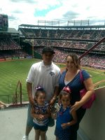 JONATHAN attended Texas Rangers vs Cleveland Indians - MLB - Day Game on Jun 8th 2014 via VetTix