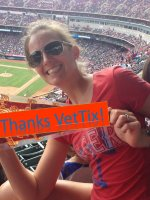 Anthony attended Texas Rangers vs Cleveland Indians - MLB - Day Game on Jun 8th 2014 via VetTix