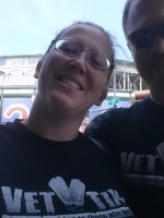 Ashley attended Chicago Cubs vs Miami Marlins - MLB - Afternoon Game on Jun 8th 2014 via VetTix