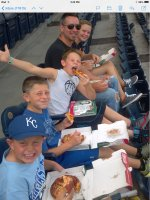 Click To Read More Feedback from Kansas City Royals vs. Cleveland Indians - MLB - Afternoon Game