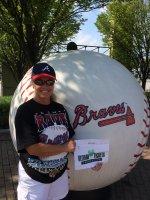 Michael attended Atlanta Braves vs San Diego Padres - MLB on Jul 27th 2014 via VetTix