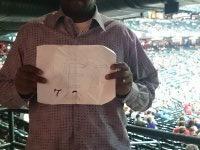 Garry attended Arizona Diamondbacks vs Kansas City Royals - MLB on Aug 6th 2014 via VetTix