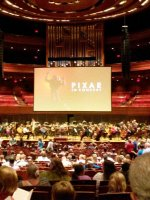 ChrIs attended PIXAR in Concert - Presented by the Philadelphia Orchestra - Saturday on Jul 26th 2014 via VetTix