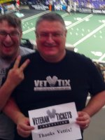 Eddie attended World Champion Arizona Rattlers vs San Jose SaberCats - 2014 AFL Conference Championship on Aug 10th 2014 via VetTix