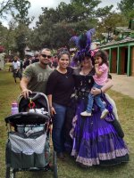 German attended Texas Renaissance Festival - Opening Weekend Passes on Oct 11th 2014 via VetTix