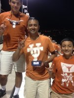 frank attended Texas Longhorns vs North Texas - NCAA Football on Aug 30th 2014 via VetTix