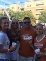 anthony attended Texas Longhorns vs North Texas - NCAA Football on Aug 30th 2014 via VetTix