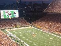 William attended Texas Longhorns vs North Texas - NCAA Football on Aug 30th 2014 via VetTix