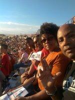 Donald attended Texas Longhorns vs North Texas - NCAA Football on Aug 30th 2014 via VetTix