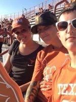 Rebecca attended Texas Longhorns vs North Texas - NCAA Football on Aug 30th 2014 via VetTix