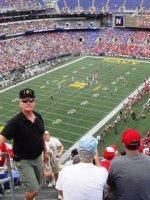 Michael attended Navy Midshipmen vs Ohio State Buckeyes - NCAA Football on Aug 30th 2014 via VetTix