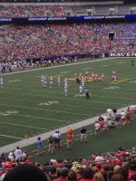 Richard attended Navy Midshipmen vs Ohio State Buckeyes - NCAA Football on Aug 30th 2014 via VetTix