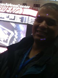 Samantha attended Dallas Mavericks vs Washington Wizards - NBA on Nov 12th 2013 via VetTix