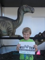 Robert attended Discover the Dinosaurs - Saturday on Oct 11th 2014 via VetTix