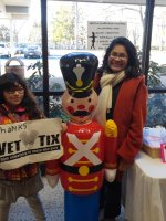 ricardo attended The Nutcracker Performed by Nunnbetter Dance Theatre on Dec 7th 2014 via VetTix