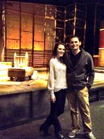 sonny attended Year of the Rooster a Production by Stray Cat Theatre on Dec 11th 2014 via VetTix