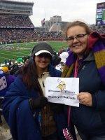 John attended Minnesota Vikings vs. New York Jets - NFL on Dec 7th 2014 via VetTix