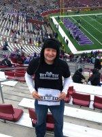 Matthew attended Minnesota Vikings vs. New York Jets - NFL on Dec 7th 2014 via VetTix