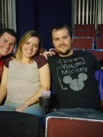 Bradley attended Colin Mochrie & Brad Sheerwood (From Whose Line Is It Anyway?) on Dec 5th 2014 via VetTix