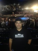 Romeo attended Colin Mochrie & Brad Sheerwood (From Whose Line Is It Anyway?) on Dec 5th 2014 via VetTix